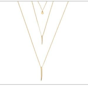 NIB - Brand new PD Upper Level Gold Necklace